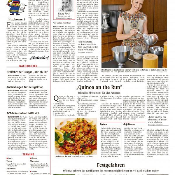 Presse Elna-Margret zu Bentheim und Steinfurt