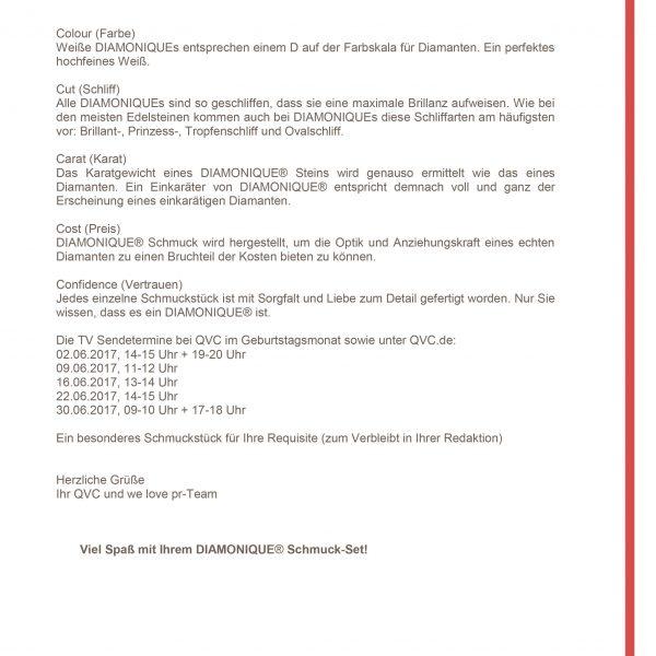 Elna Margret zu Bentheim und Steinfurt QVC PM