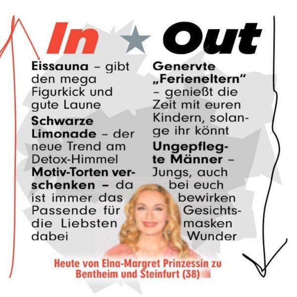 Elna Margret zu Bentheim Bild In&Out