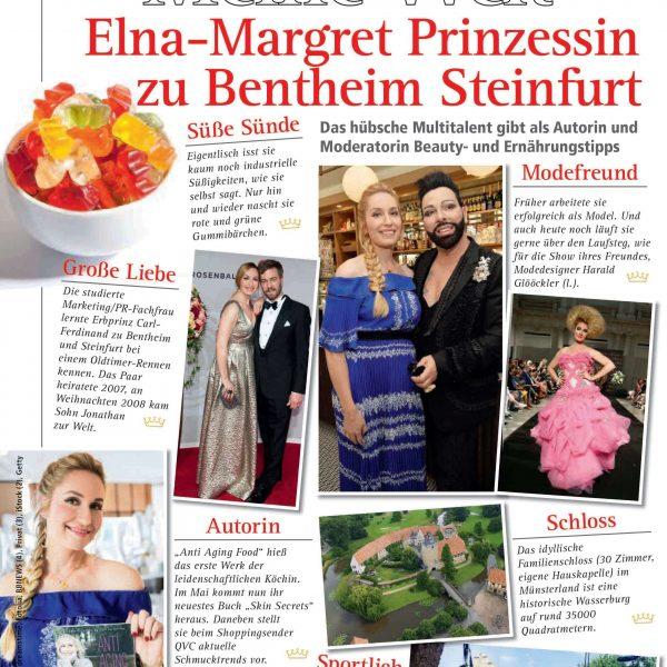 Elna-Margret zu Bentheim Adel Heute