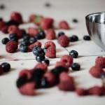 Himbeeren, Heidelbeeren und Erdbeeren