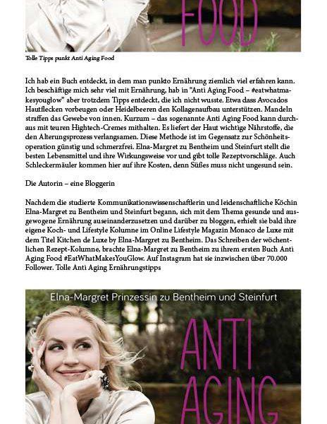 "Blogartikel auf ""justdeluxe.at"": Tolle Anti Aging Tipps"