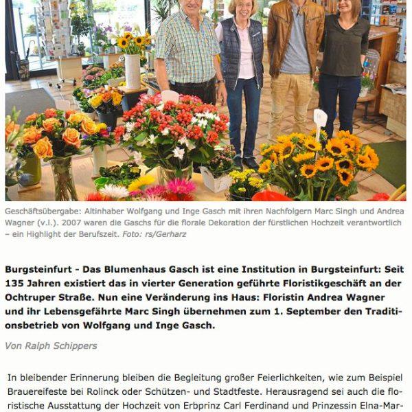 Elna Margret Zu Bentheim Westfählische Nachrichten