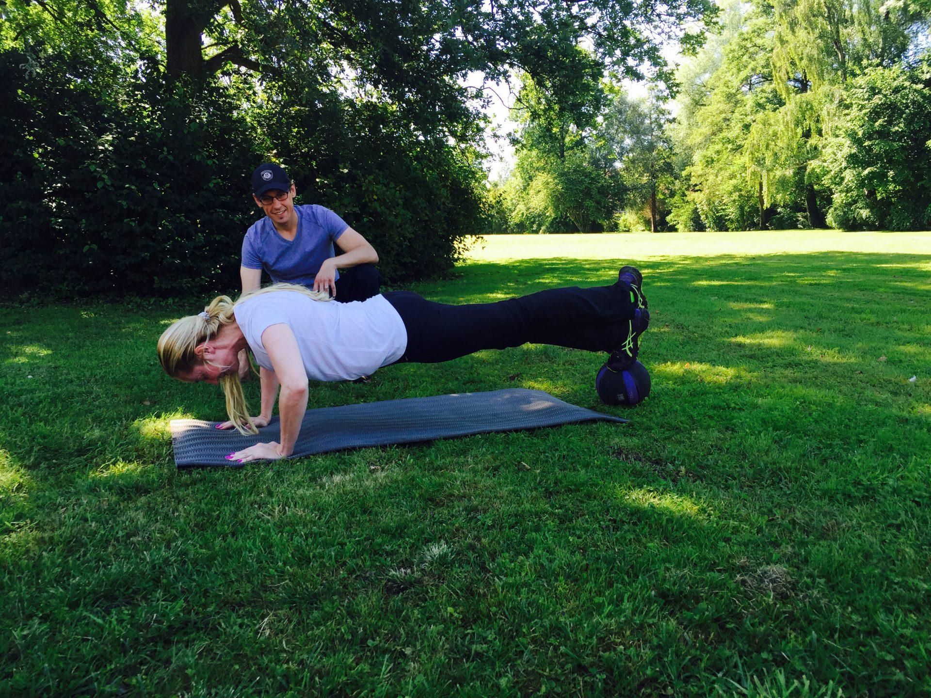 Elna-Margret zu Bentheim - Fitness