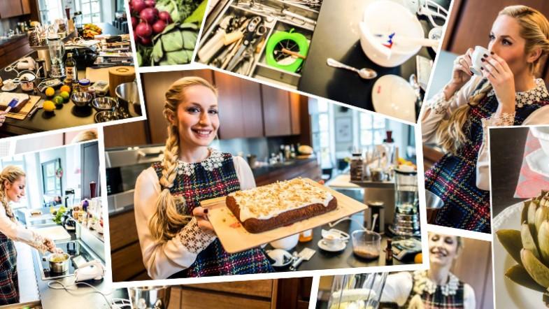 Elna-Margret zu Bentheim in ihrer Schlossküche in Steinfurt