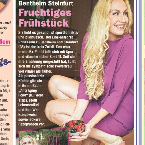 Elna-Margret zu Bentheim im Magazin 7 Tage, Ausgabe 24