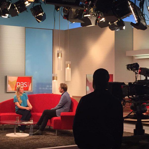 Interview auf dem roten Sofa