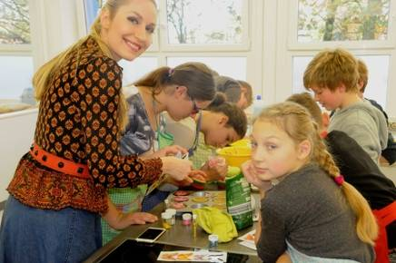 Charity Kinder Elna-Margret zu Bentheim