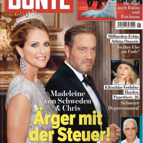 Elna-Margret zu Bentheim in der Zeitschrift die Bunte