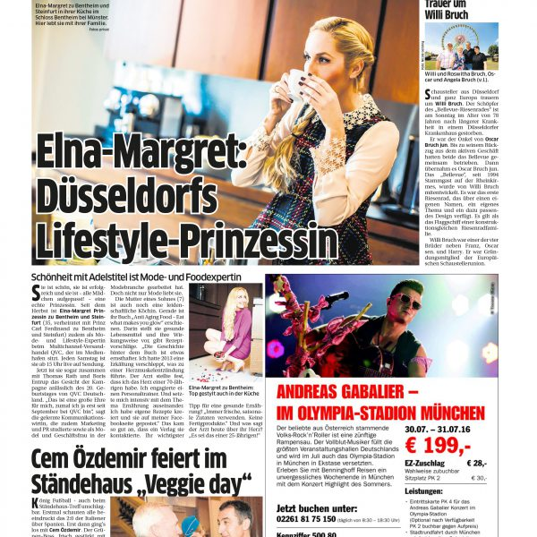 Düsseldorfs Lifestyle-Prinzessin