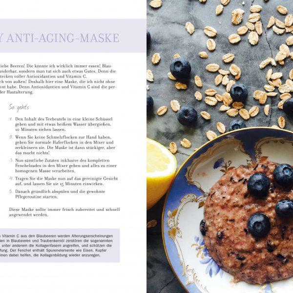 Skin Secrets Blueberry Anti-Aging-Maske
